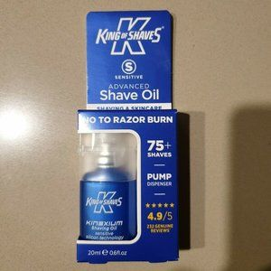 King of Shaves Advanced Silicone Shaving Oil 20ml